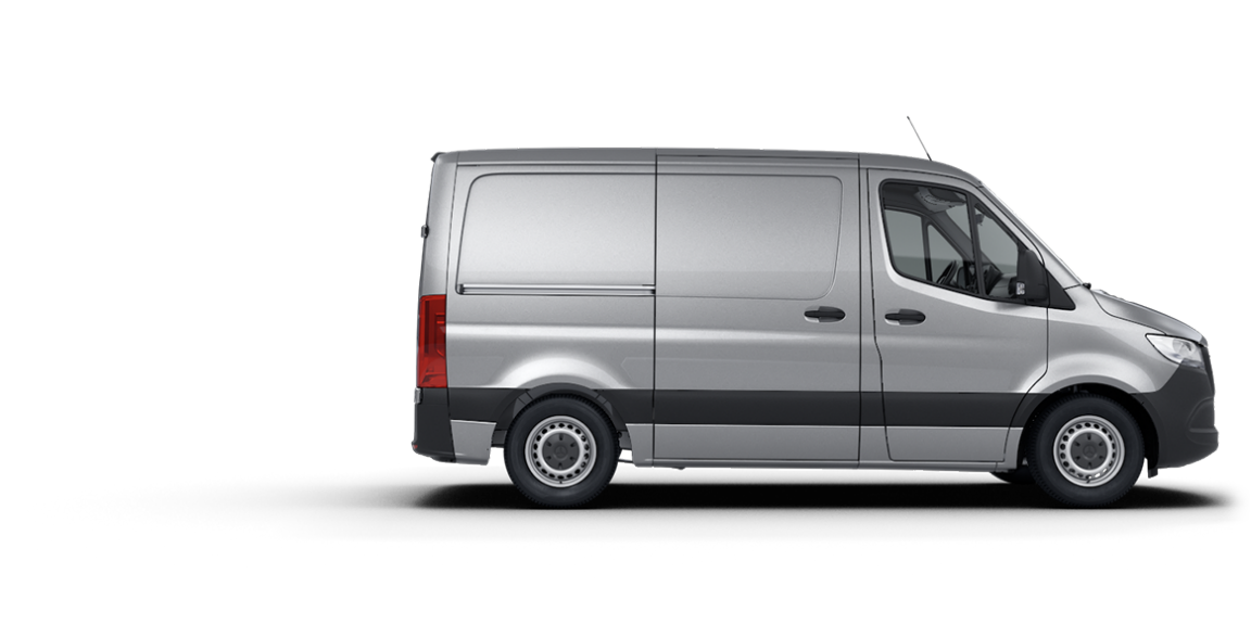 Mercedes-Benz Sprinter Fourgon, toit normal, empattement 3.259 mm.