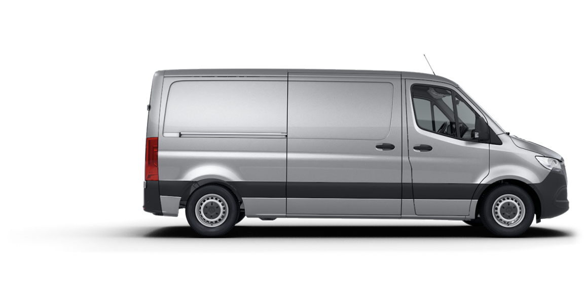 Mercedes-Benz Sprinter Fourgon, toit normal, empattement 3.665 mm.