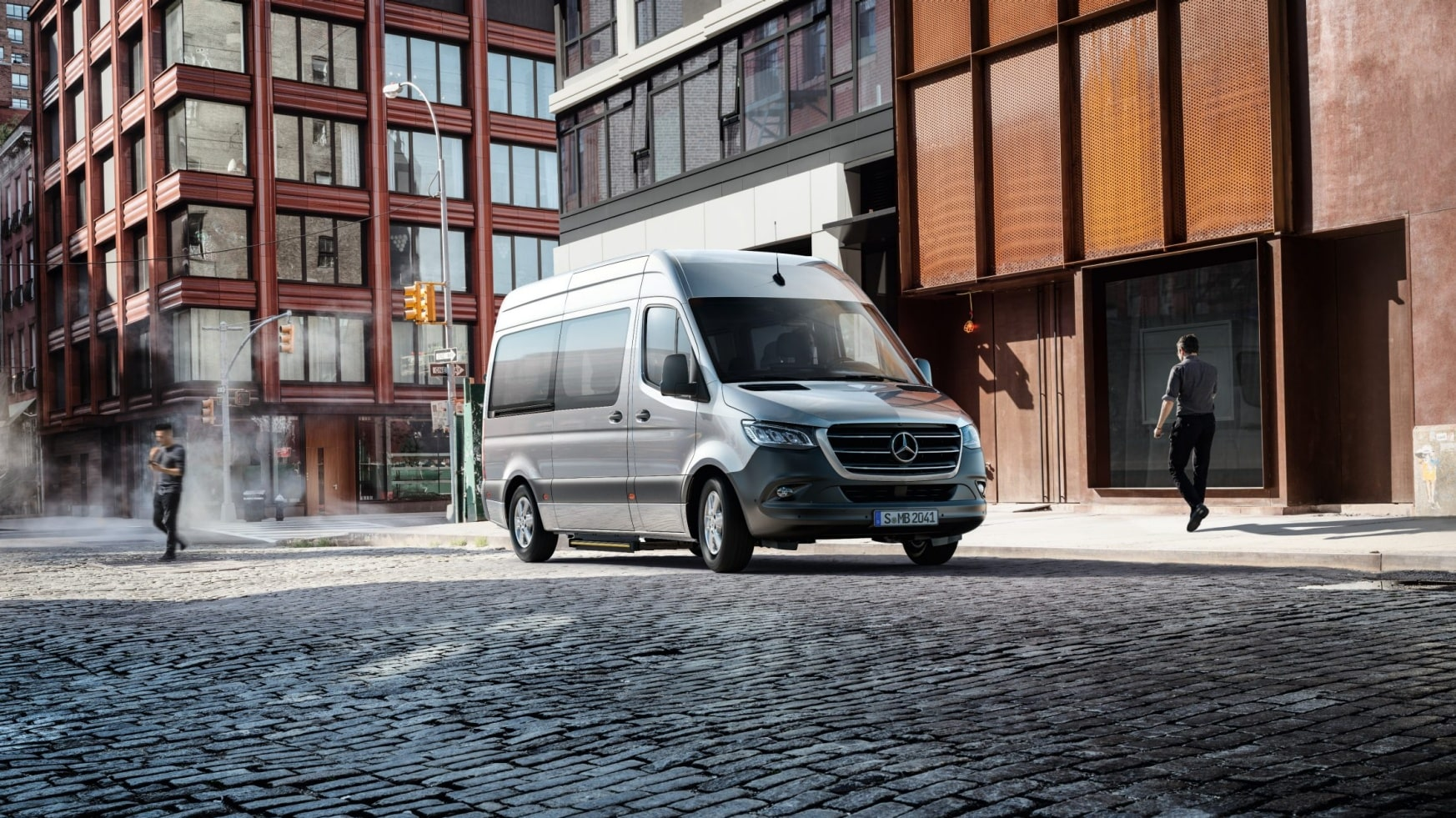 Zilveren Mercedes-Benz Sprinter Tourer
