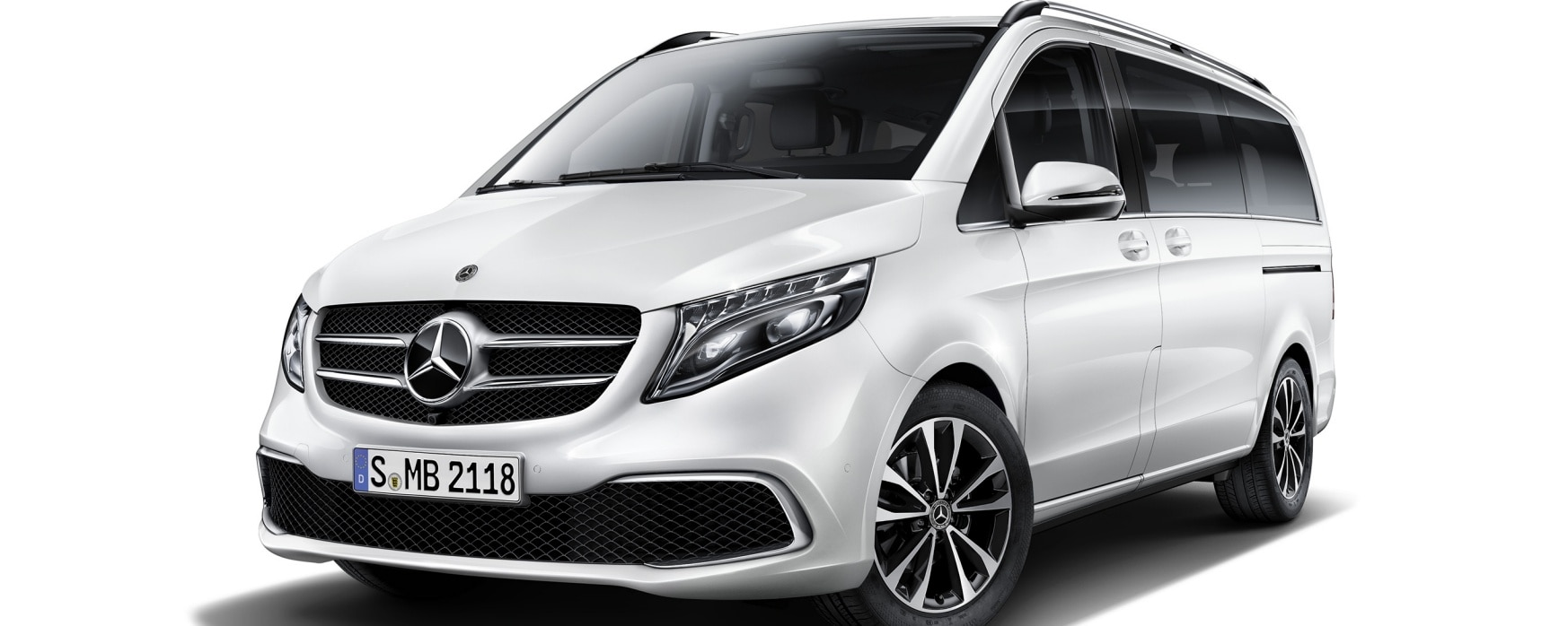 Mercedes-Benz V-Klasse poolwit.