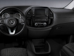 Vito Tourer, Chroom-pakket Interieur